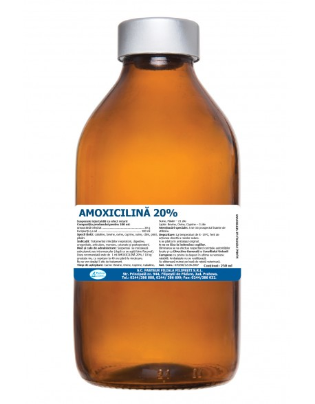 Amoxicilina FP 20% RETARD 100ml