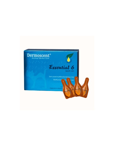 Dermoscent Essential 6 Spot-On Pisica - 4 Pipete