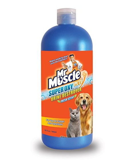 Mr Muscle Super Oxy Pets 945ml