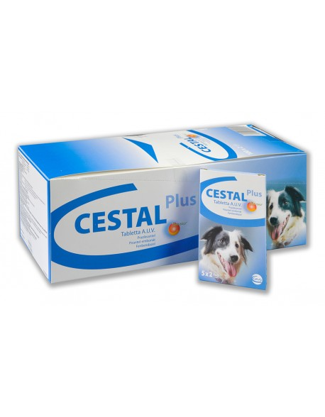 Cestal Plus Dog Flavour - 1 Tableta
