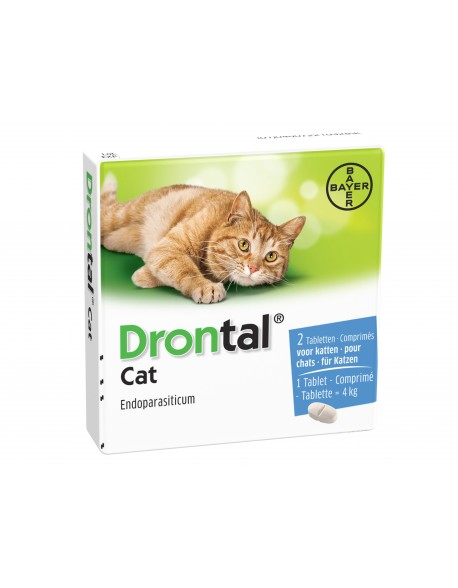Drontal Cat - 1 Tablete