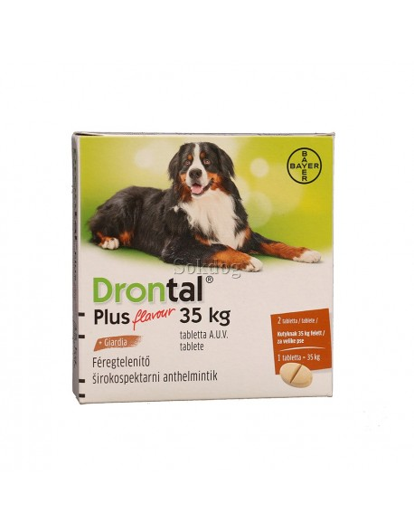 Drontal Plus 35 kg - 1 Tableta