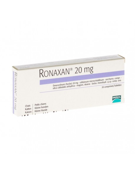 Ronaxan 20mg - 20 Tablete