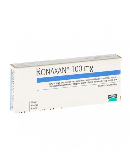 Ronaxan 100mg - 10 Tablete