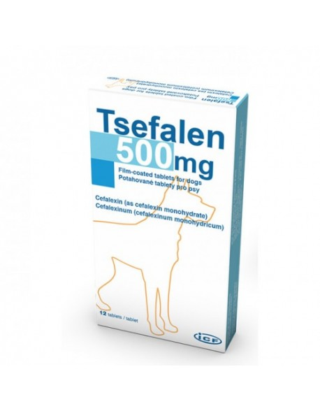 Tsefalen 500 mg - 12 tablete