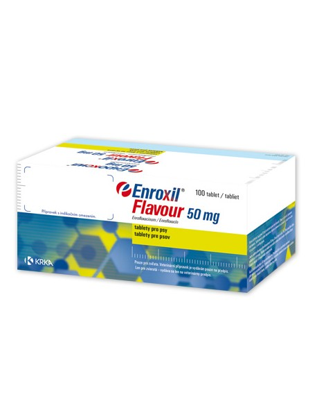 Enroxil Flavour 50mg - 10 Comprimate