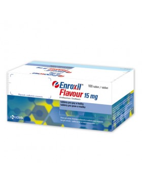 Enroxil Flavour 15mg - 10 Comprimate