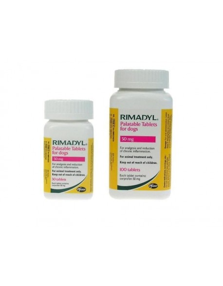 Rimadyl 50 mg - 30 tablete