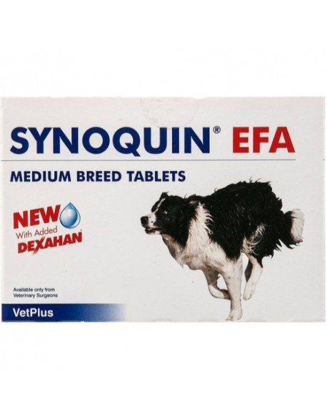 Synoquin EFA Medium Breed - 30 Tablete