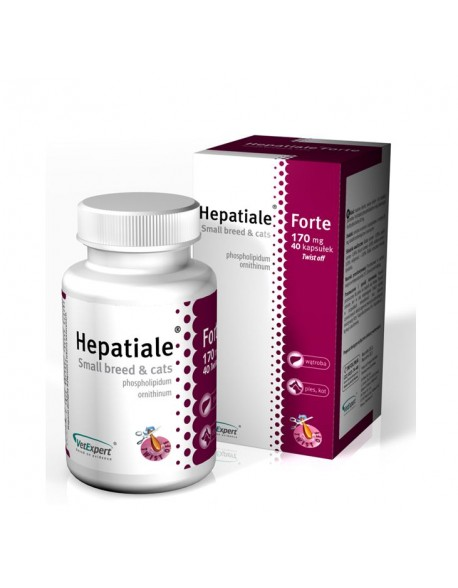 Hepatiale Forte 170mg - 40 Capsule Twist Off