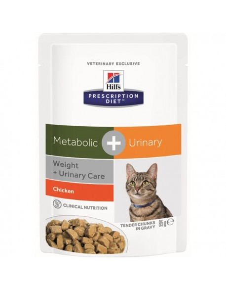 Hill's Metabolic + Urinary cu Pui - 85gr