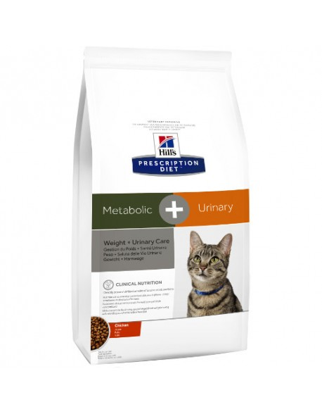 Hill's PD Feline Metabolic + Urinary - 4kg