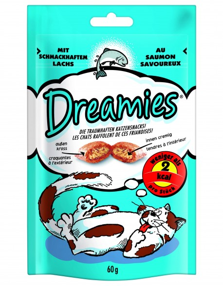 Dreamies cu Somon 60gr