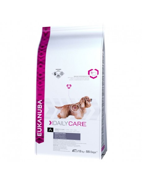 Eukanuba Adult Daily Care Sensitive Skin 12kg
