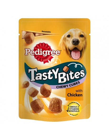 Pedigree Tasty Bites 130gr