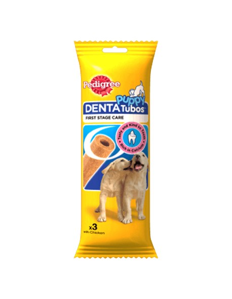 Pedigree DentaTubos Junior cu Pui 72gr