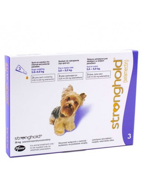Stronghold Caine 30mg ( 2,6 - 5kg ) 1 Pipeta