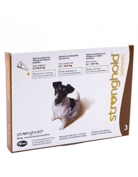 Stronghold Caine 60mg ( 5,1 - 10kg ) 1 Pipeta
