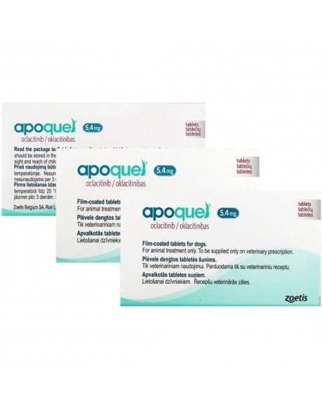 Apoquel 5,4 mg 20 Tablete