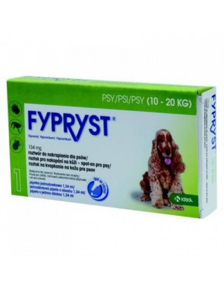Fypryst Caine M 10 - 20kg 3 Pipete