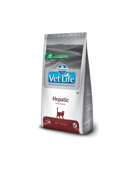 Vet Life Cat Hepatic 10 kg