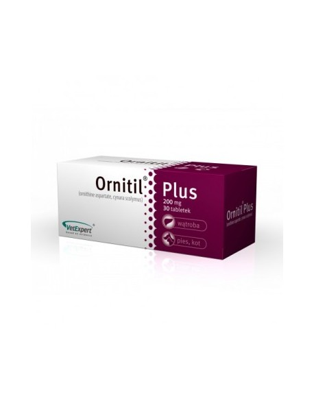 ORNITIL PLUS 200MG - 30 TABLETE