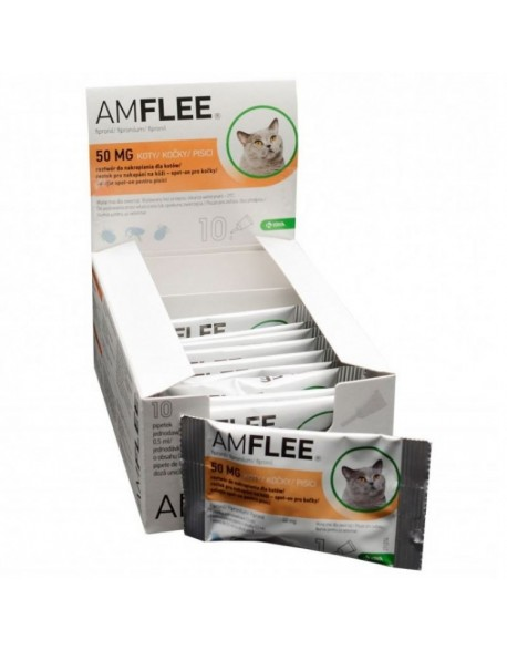 AMFLEE CAT 50 mg spot-on, 1 pipeta