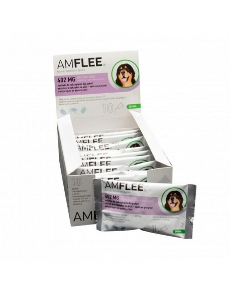 AMFLEE DOG 402 mg spot-on, XL (40-60 Kg), 1 pipeta