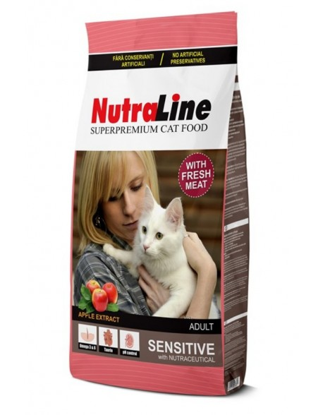 Nutraline Cat Adult Sensitive 10kg