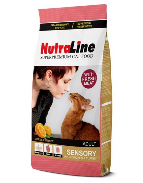 Nutraline Cat Adult Sensory 10kg