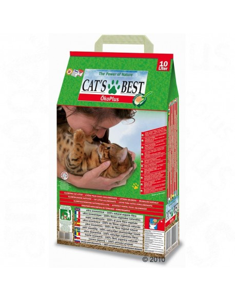 Nisip Cat'S Best Oko Plus 10L